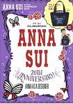 ANNA SUI 安娜蘇日本上市20週年紀念特刊附緞面風束口托特包