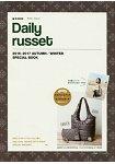 Daily russet 品牌MOOK 2016-2017年秋冬號附壓線設計輕量空氣托特包.滿版圖案小物包