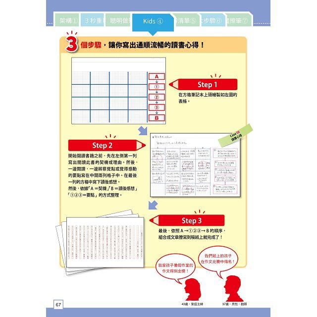 為什麼聰明人都用方格筆記本?(圖解範例版)(加碼送B5方格筆記本)