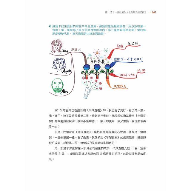 心智圖筆記術:將腦中智慧以清晰的脈絡呈現圖像化思維(加碼贈送「心智圖練習簿」)