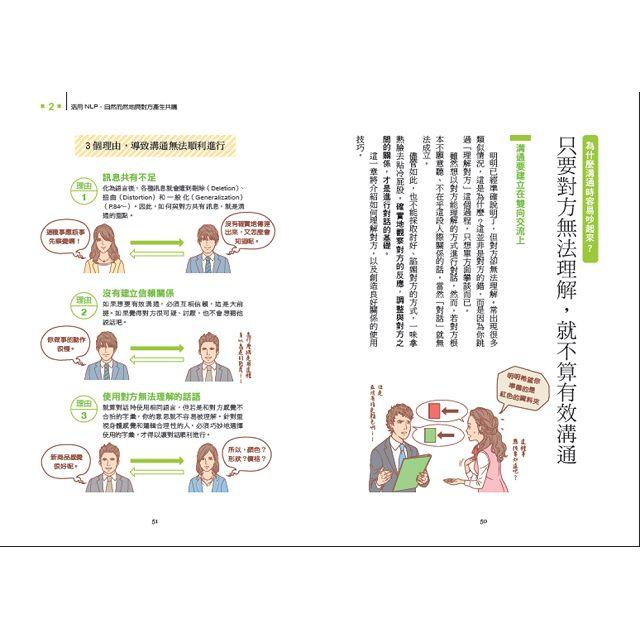 NLP大腦使用手冊:最簡單的行為科學實踐術,讓大家都聽你的(全彩圖解)