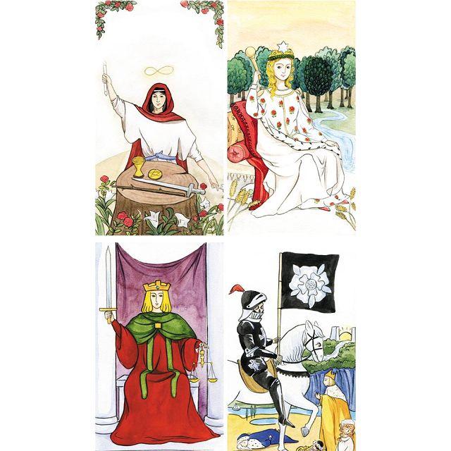 深入塔羅牌的神祕能量+萊德偉特78張手繪塔羅牌組