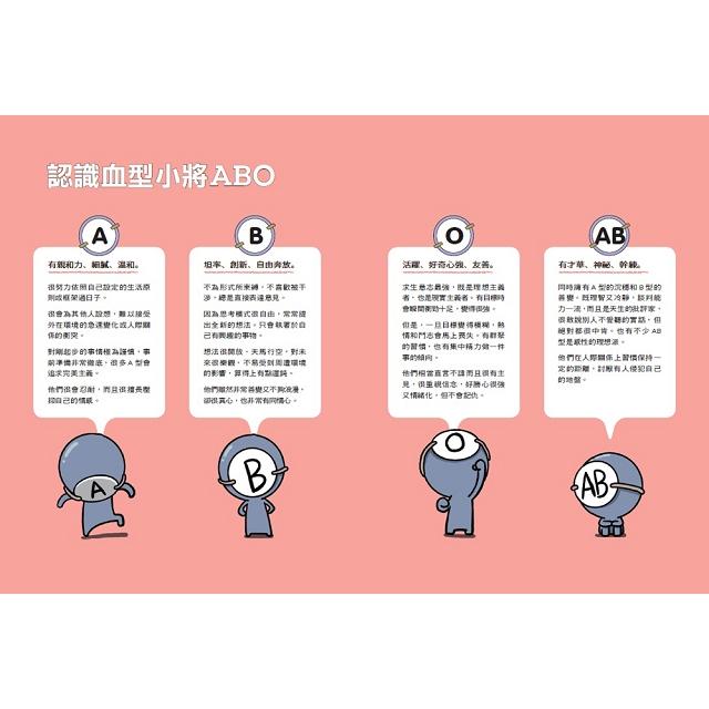 血型小將ABO之工作白皮書+ABO陶瓷吸水杯墊(AB型)