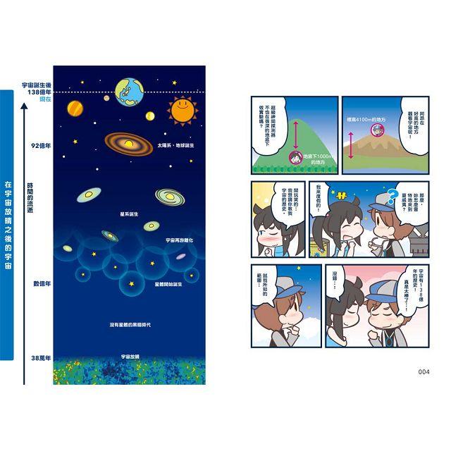 宇宙的歷史與觀測:看漫畫學宇宙知識!