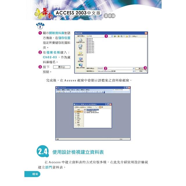 Access 客戶資料 設計寶典