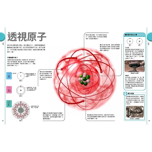 元素週期表終極圖鑑(附贈精美元素週期表海報)