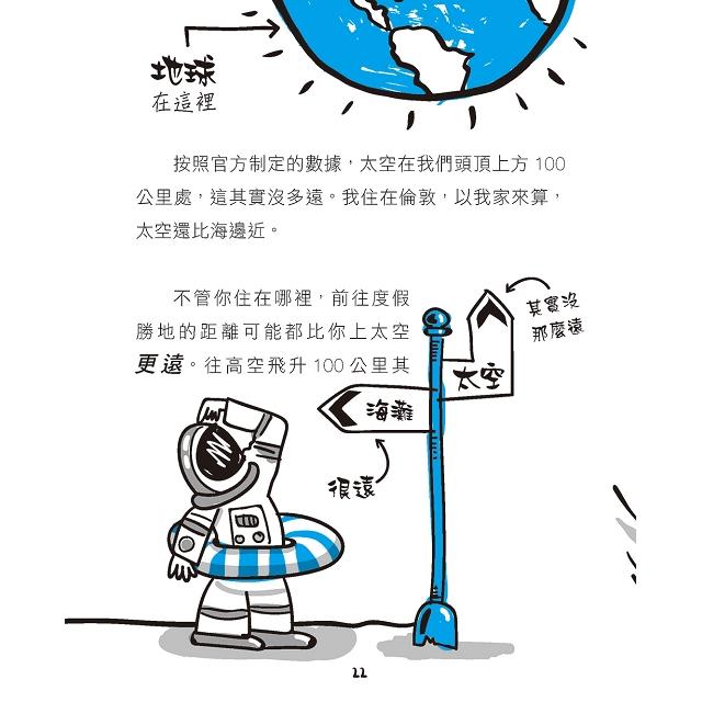 飛上外太空:你瘋了嗎?那裡什麼都沒有