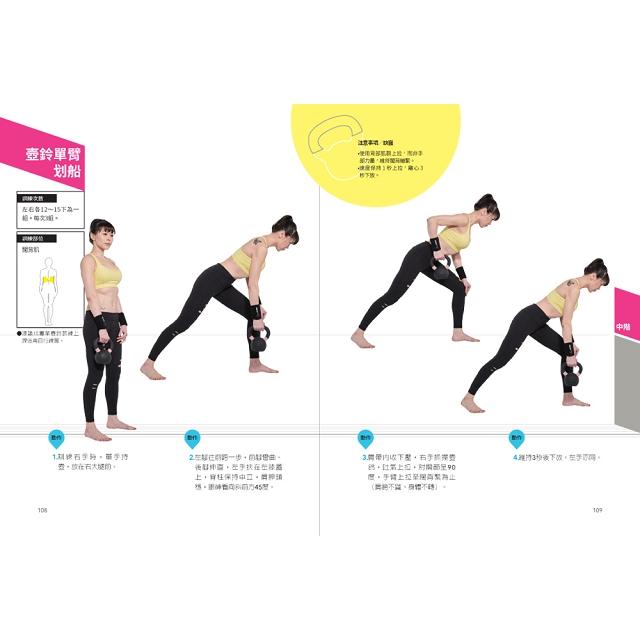 甩開寬扁胖!48歲的壺鈴爆美力:健身界美魔女Linda,教你40招有效瘦腰腿臀術!每週15分鐘,從XL變S號!