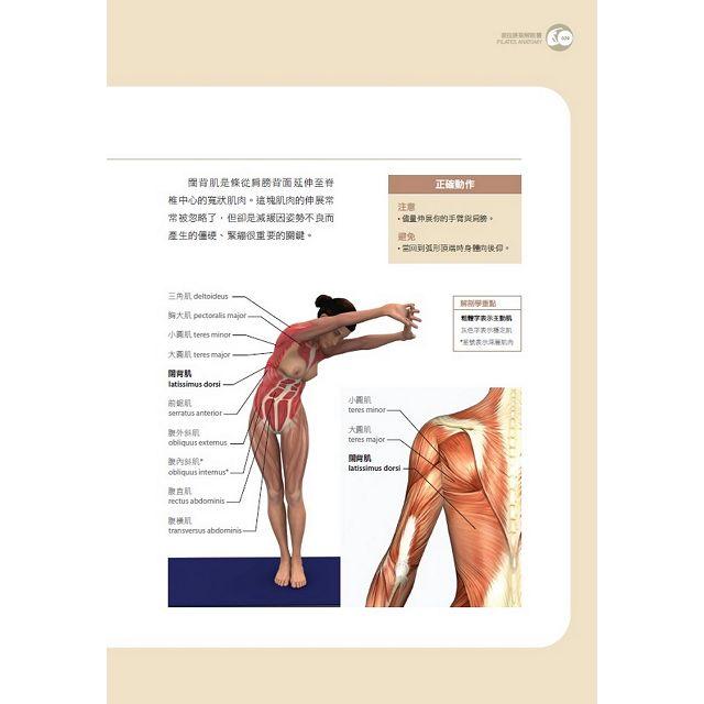 彼拉提斯解剖書(暢銷改版)