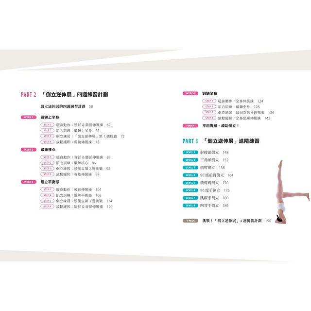 強核心.修體態.除贅肉.解痠痛,倒立逆伸展:風靡韓國,明星李孝利.IU都在練的強筋活血.美型塑身逆姿勢