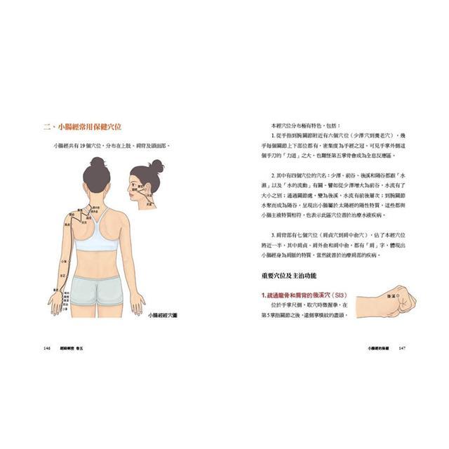 經絡解密卷五:雙太陽健美組合-人體背景最雄厚的護衛官小腸經+膀胱經