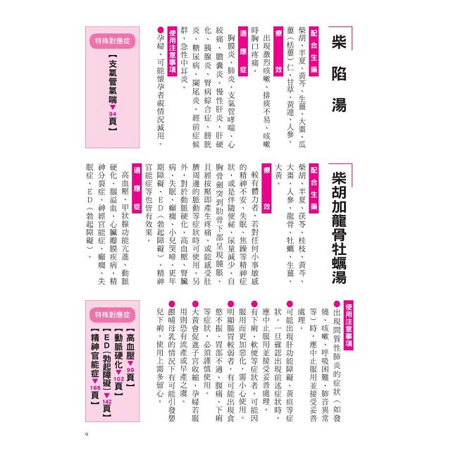 漢方決定版: 在藥房能購買的210則中醫處方完全解說