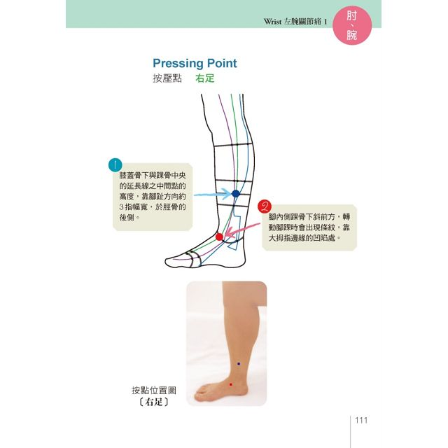 常用局部疼痛關鍵按點全書(全彩應用圖解)