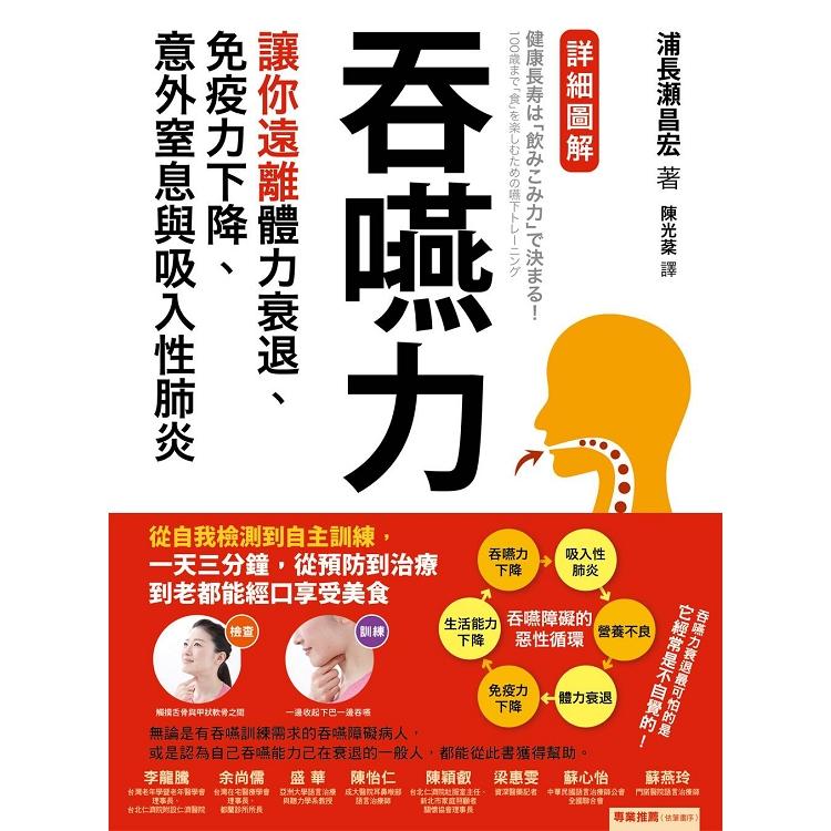 吞嚥力:讓你遠離體力衰退、免疫力下降、意外窒息與吸入性肺炎