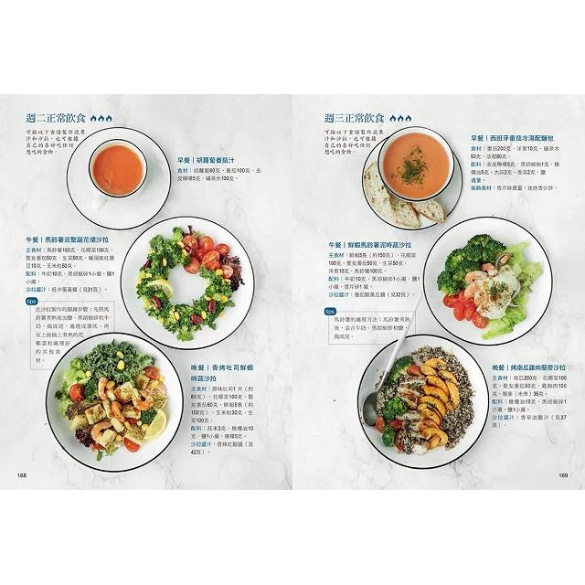 風靡全球!1週2天燃脂快瘦餐,不復胖加倍瘦:高酵蔬果汁×超飽足沙拉,甩肉不挨餓,開心吃輕鬆減!