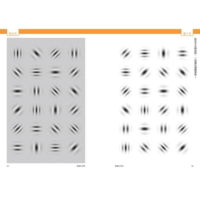 1天3分鐘14天有感腦科學認證!拯救視力╳防失智的「蓋博符號」