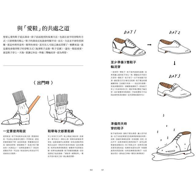 養鞋書:日本擦鞋達人教你如何養出一雙伴你長長久久的皮鞋