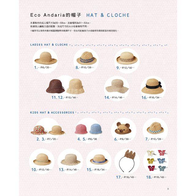親子時尚的涼夏編織包&帽子小物