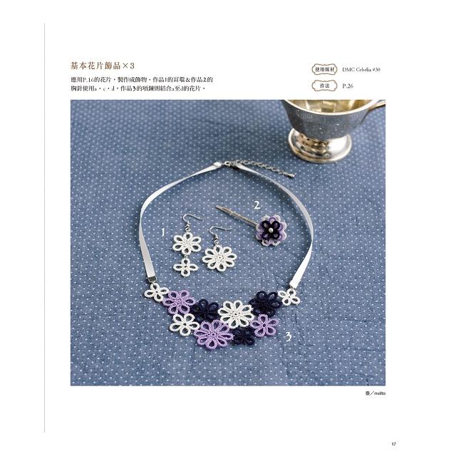 令人著迷的梭編蕾絲小物設計