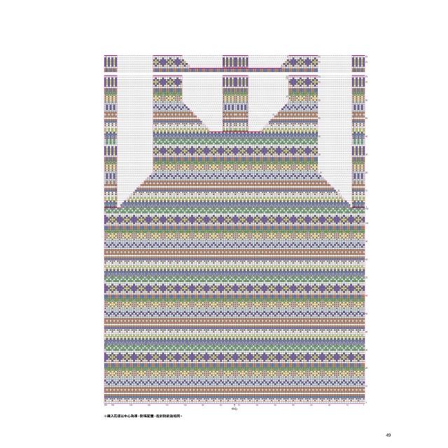風工房的絢麗費爾島編織