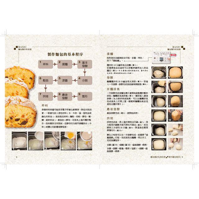 麵包機的私房料理:烤燉烘一鍵搞定120道美食