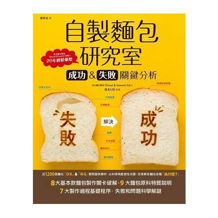 自製麵包研究室:成功&失敗關鍵分析