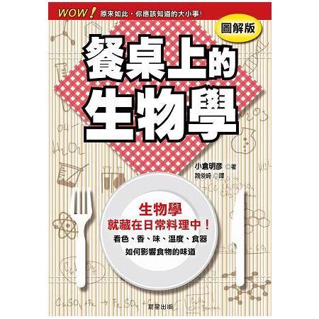 餐桌上的生物學:看色、香、味、溫度、食器如何影響食物的味道