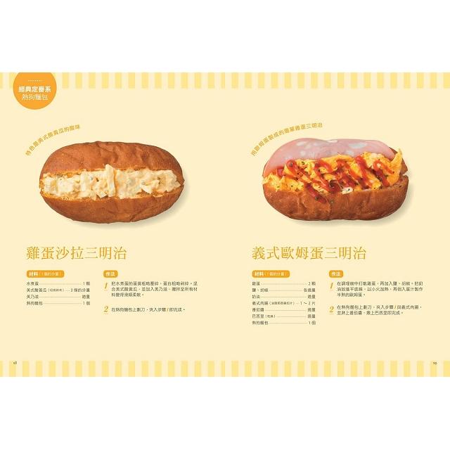 熱狗麵包三明治:早午餐X下午茶點心X野餐便當,80款Koppepan美味新提案