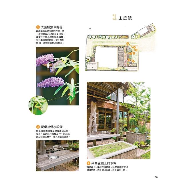 打造有機自然生態庭園