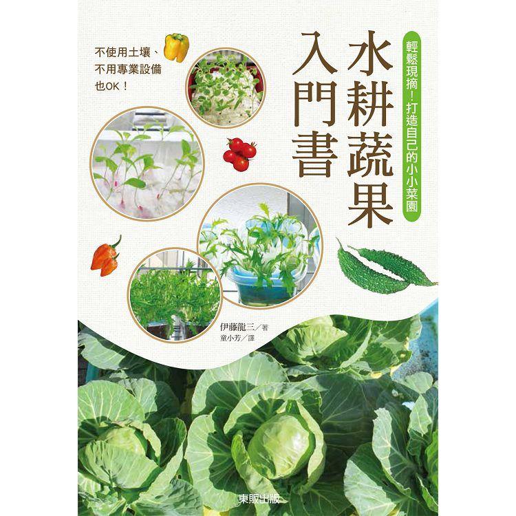 水耕蔬果入門書:輕鬆現摘!打造自己的小小菜園