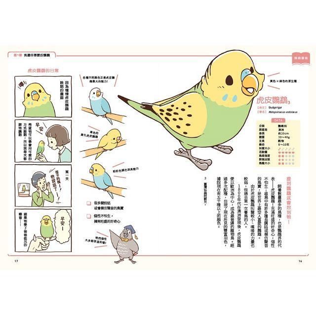 第一次養鸚鵡就戀愛了!【超萌圖解】鸚鵡飼育百科:從日常照料、玩耍訓練到健康照護,鳥寶一生全指南