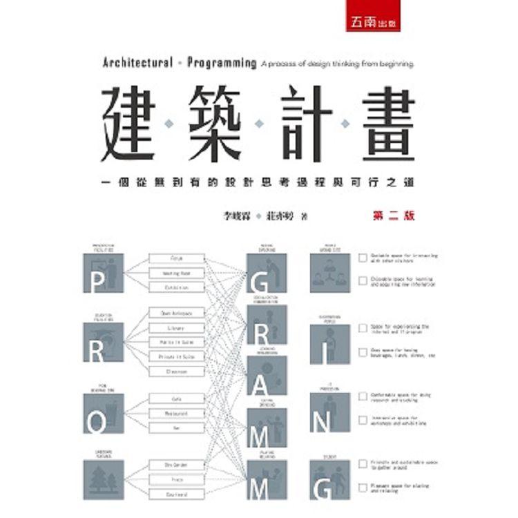 建築計畫:一個從無到有的設計思考過程與可行之道