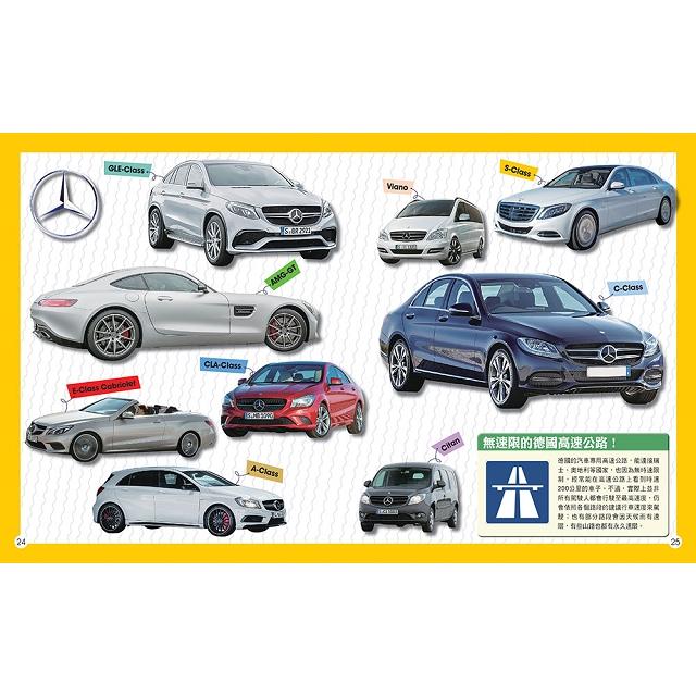 世界名車小百科:400種經典車款,暢遊10個國家的深度文化之旅!