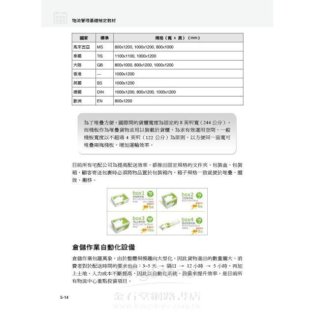 物流管理基礎檢定教材