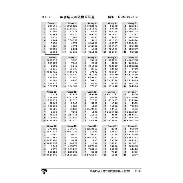 中英數輸入實力養成暨評量(2016年版)