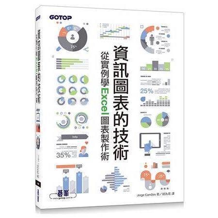 資訊圖表的技術|從實例學Excel圖表製作術