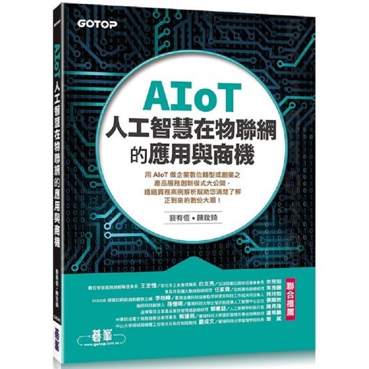AIoT人工智慧在物聯網的應用與商機