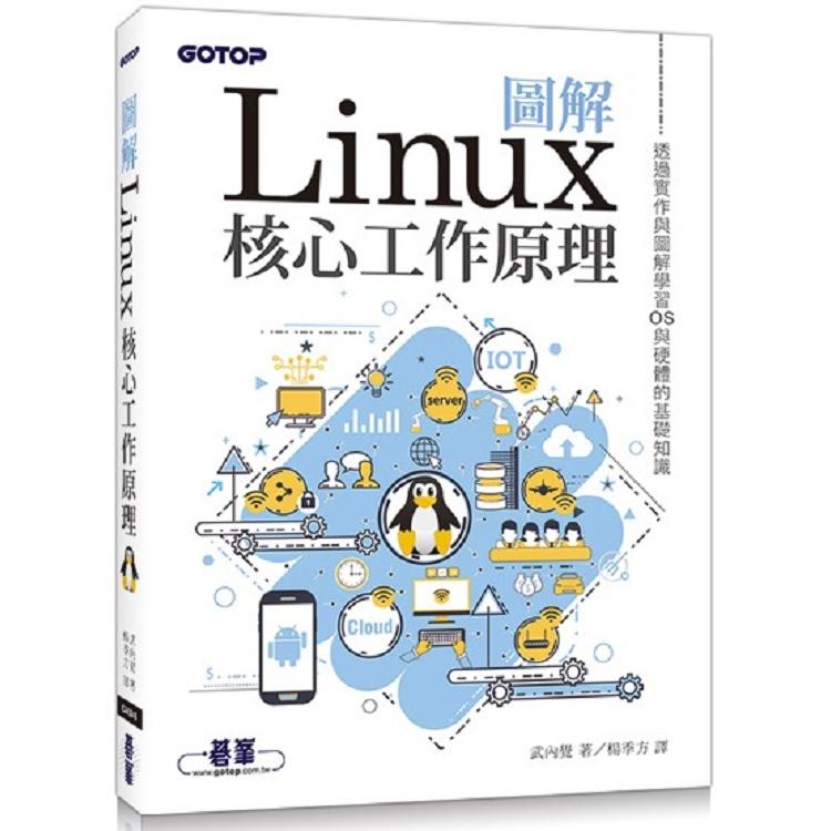 圖解Linux核心工作原理|透過實作與圖解學習OS與硬體的基礎知識