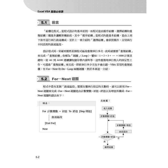 Excel VBA基礎必修課:商管群最佳程式設計訓練教材(適用Excel 2019~2010)