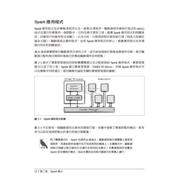 Spark技術手冊 輕鬆寫意處理大數據