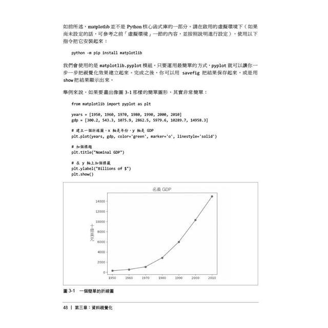Data Science from Scratch中文版第二版 用Python學資料科學