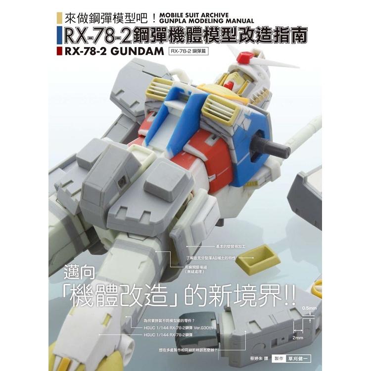 RX-78-2鋼彈機體模型改造指南
