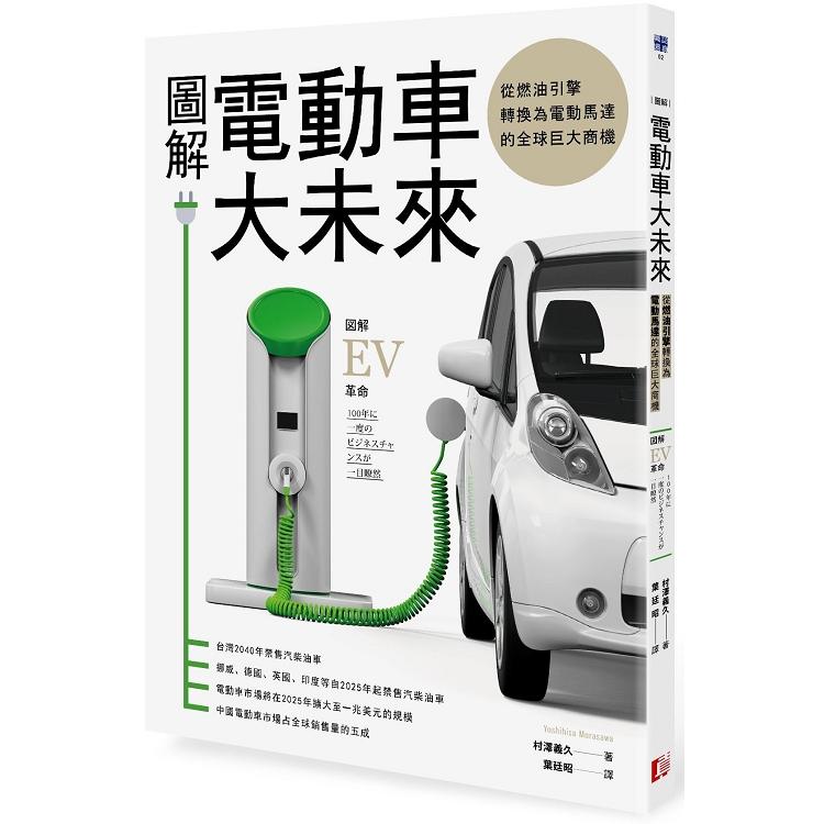圖解電動車大未來:從燃油引擎轉換為電動馬達的全球巨大商機