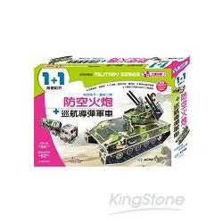 防空火炮+巡航導彈軍車
