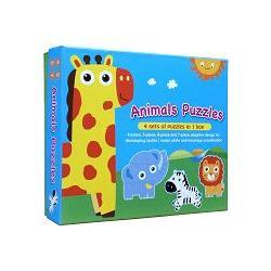 草原動物大拼圖(Animals Puzzles)