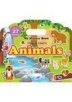 My Sticker Book ~Animals 手提貼紙書~~動物 英文版