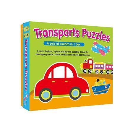 交通工具大拼圖(新版)(Transports Puzzles)