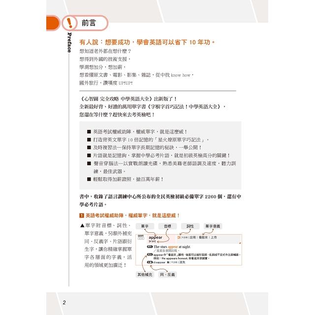 字根字首巧記法!中學英語單字大全(25K+MP3)
