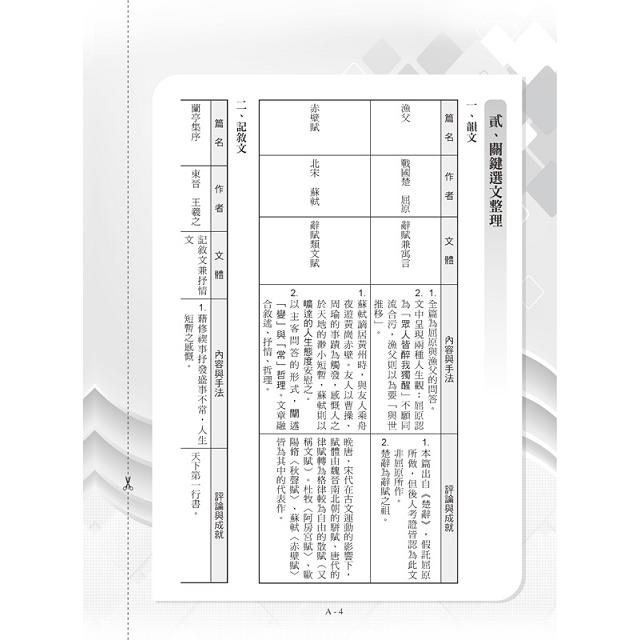 107升大學指定科目考試解題王:國文考科