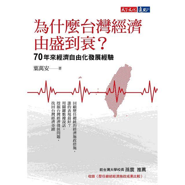 為什麼台灣經濟由盛到衰?70年來經濟自由化發展經驗